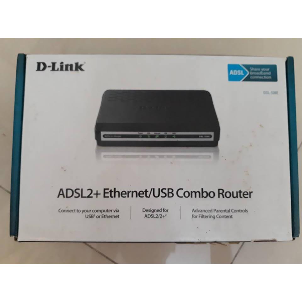 Modem Dlink 1P ADSL DSL526E+Splitter