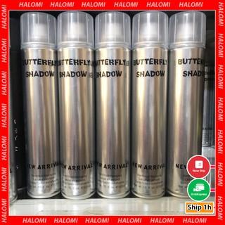 Gôm bạc Butterfly Shadow xịt giữ nếp tóc nam nữ cao cấp chính hãng loại 1 thumbnail