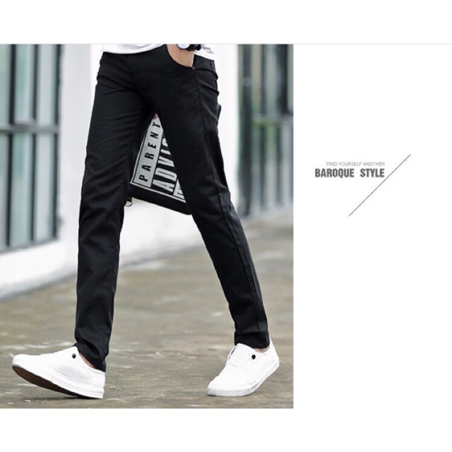 [FREESHIP] Quần kaki nam form Hàn