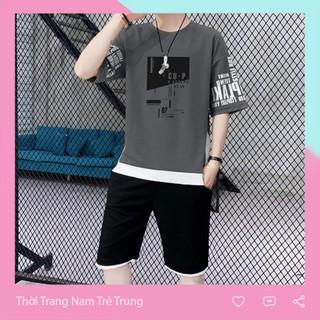 Set quần áo nam phong cách Hàn Quốc TH025