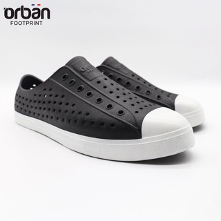 Giày thể thao Nam Nữ Fit_Urban đen đế trắng thumbnail