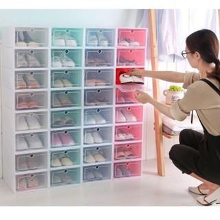 Hộp đựng giày nhựa cao cấp 33x24x13cm