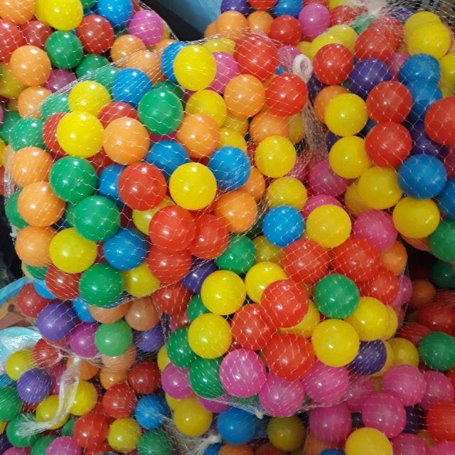 100 bóng nhựa căng bóng hàng VN 5cm cho bé ( ảnh thật sản phẩm)