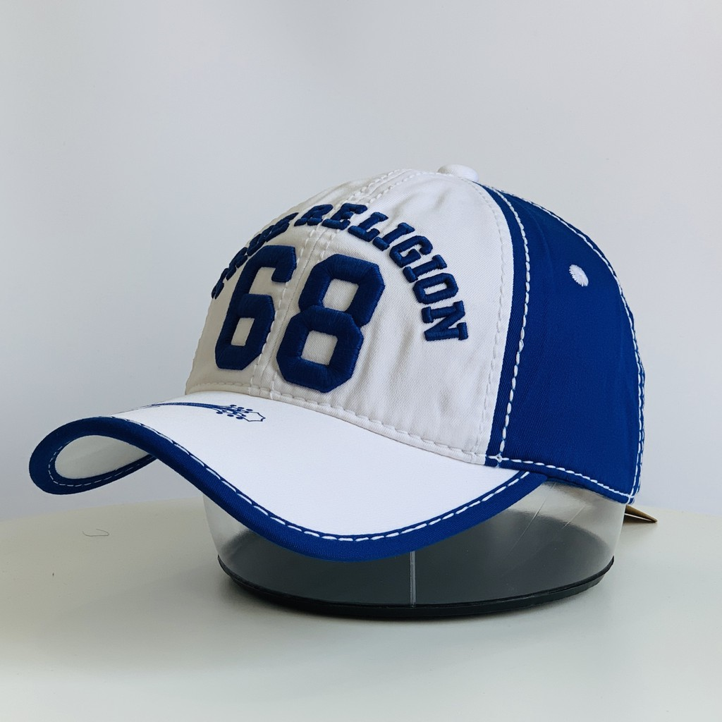 Nón Kết Ông Địa Màu Xanh Mũ Lưỡi Trai Đẹp Mũ Vintage AB-30079