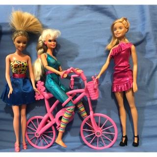 Set 3 Búp bê Barbie& xe đạp Barbie thấy cưng ghê luôn nè, hàg chính hãg xách tay Mỹ