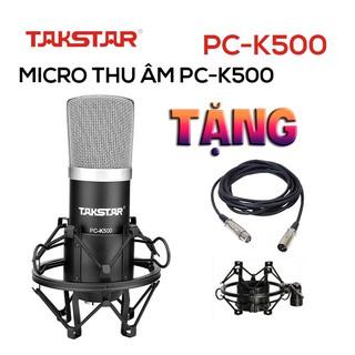 Chính hãng Mic thu âm chuyên nghiệp Takstar PC-K500 hát karaoke, livestream, bán hàng thumbnail