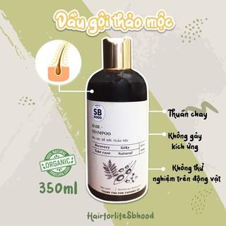 Dầu gội bồ kết thảo mộc CHẤT LƯỢNG TỐT NHẤT giúp làm sạch gàu kháng khuẩn và kích thích mọc tóc 350ml thumbnail