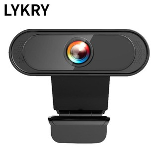 Lykry Web Camera 1080P Microphone 45-degree adjustable Plug and Play for Conferencing and Video Calling
