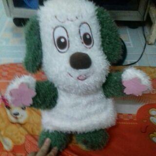 Chó trắng xanh