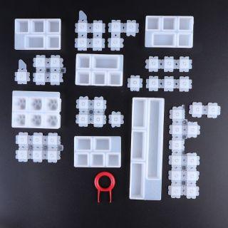 Bộ khuôn silicone tự làm keycaps gaming.