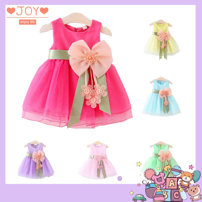 Đầm công chúa mùa hè cho bé gái