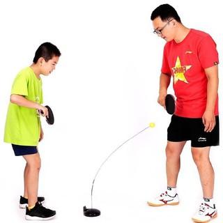 Bộ bóng bàn phản xạ không cần bàn luyện tập trung cho trẻ, xả tressk thumbnail