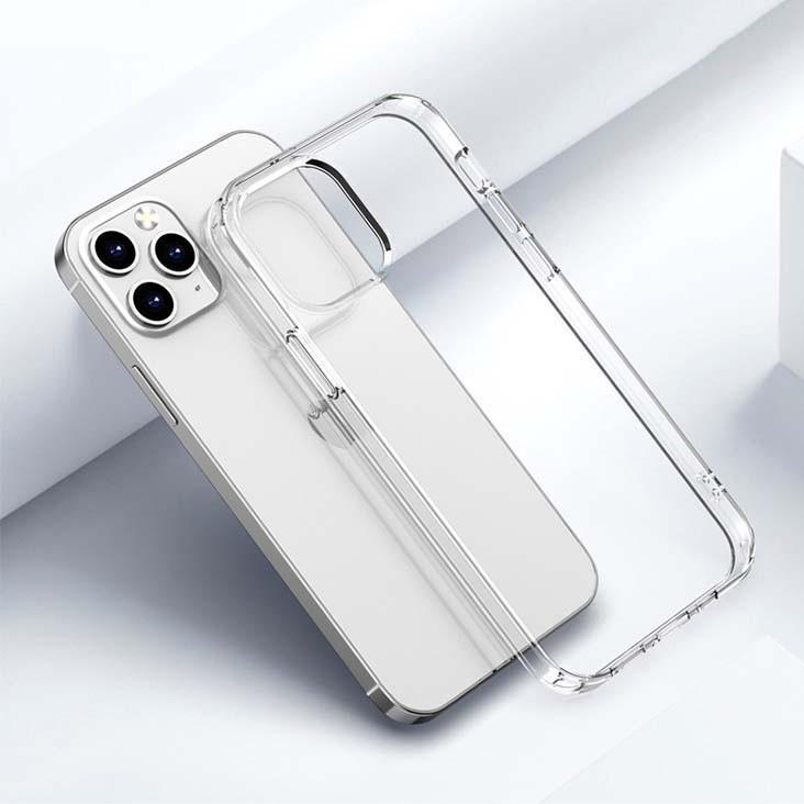 5. Ốp lưng trong suốt iPhone 12 pro max/ 11 pro max/ xs max chống sốc đệm khí 4 góc