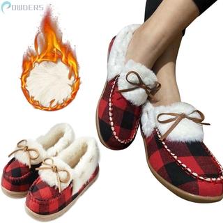 Giày Mọi Phối Lông Thời Trang Nữ