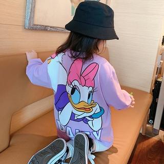 Đầm thun in nhân vật hoạt hình disney cho bé gái dễ thương xinh xắn