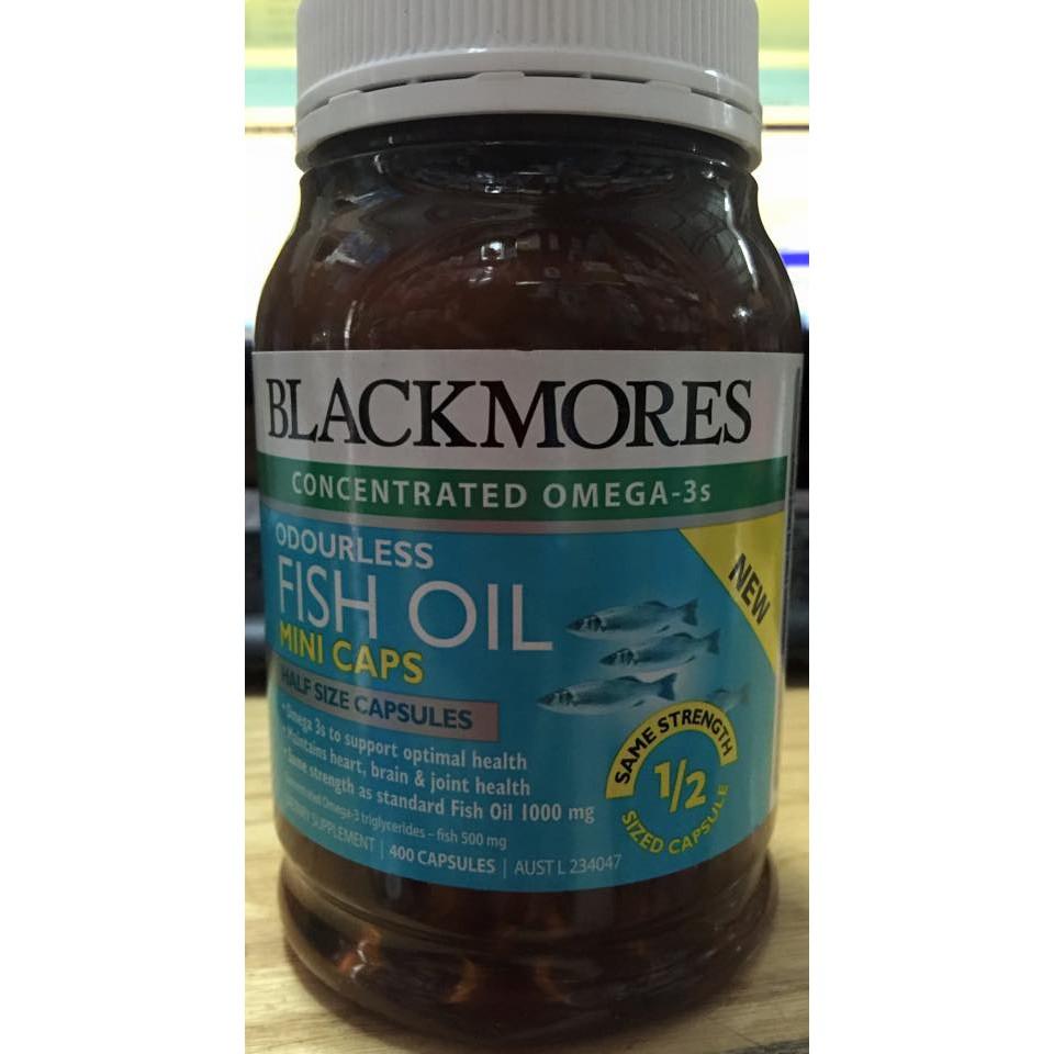 Viên uống dầu cá Omega 3 Blackmores date t6/18