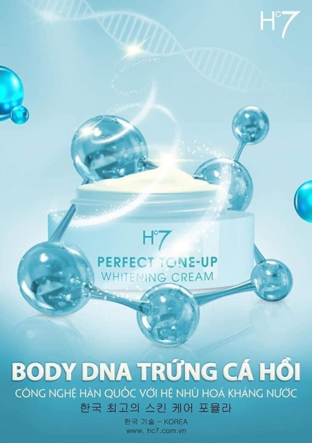 BODY DNA TRỨNG CÁ HỒI - HC7 - HUYỀN CÒ