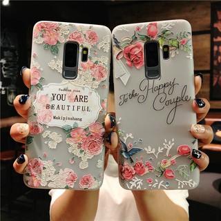 lưng hình hoạt hình cho Samsung Galaxy S8 S9 Plus Note 8 Note9