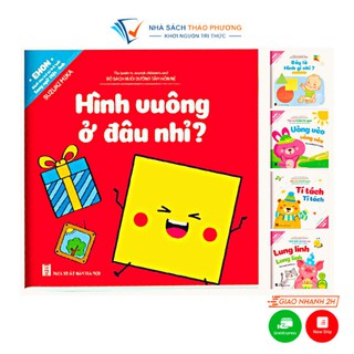 Sách - Ehon song ngữ Việt Anh trọn bộ 10 cuốn có file âm thanh nuôi dưỡng tâm hồn bé