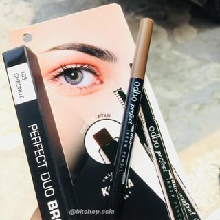 [ Auth Thái ] Chì kẻ mày Odbo Perfect Dou Brow Pencil OD719 New thumbnail