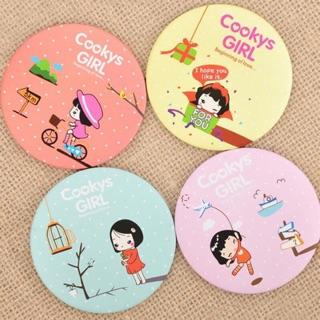 Combo 10 Gương Mini Kute Phong Cách Hàn Quốc