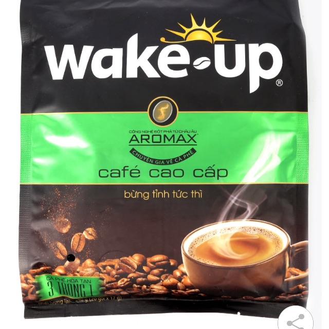 Cà Phê Sữa Hòa Tan Cao Cấp Wake Up (17G X 20 gói) - 2522727 , 855633716 , 322_855633716 , 70000 , Ca-Phe-Sua-Hoa-Tan-Cao-Cap-Wake-Up-17G-X-20-goi-322_855633716 , shopee.vn , Cà Phê Sữa Hòa Tan Cao Cấp Wake Up (17G X 20 gói)