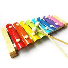 [Nhập mã TOYMAY15 giảm 15K] Đàn Gỗ 8 Quãng - Đàn Xylophone - Đồ Chơi Âm Nhạc Cho Bé (Video...