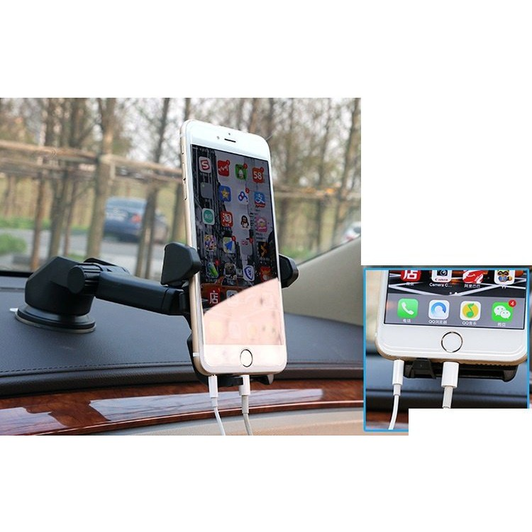 Giá đỡ kẹp điện thoại trên xe hơi, ô tô kéo dài, thu hẹp 360 độ cao cấp ( Giá sock ) - 3118102 , 994166486 , 322_994166486 , 55000 , Gia-do-kep-dien-thoai-tren-xe-hoi-o-to-keo-dai-thu-hep-360-do-cao-cap-Gia-sock--322_994166486 , shopee.vn , Giá đỡ kẹp điện thoại trên xe hơi, ô tô kéo dài, thu hẹp 360 độ cao cấp ( Giá sock )