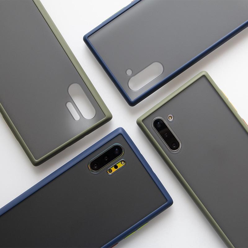 Samsung Note 8 9 10 Plus J4 J6 Prime J8 2018 ĐÃ CÓ ỐP NHÁM CHỐNG SOCK , VA ĐẬP , BÁM VÂN TAY 6 MÀU THỜI TRANG
