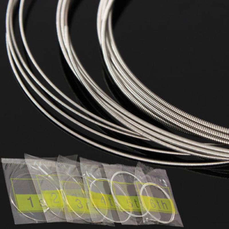 GUITAR STRINGS ELECTRIC GUITAR STRINGS LIGHT GAUGE (010-046) STEEL