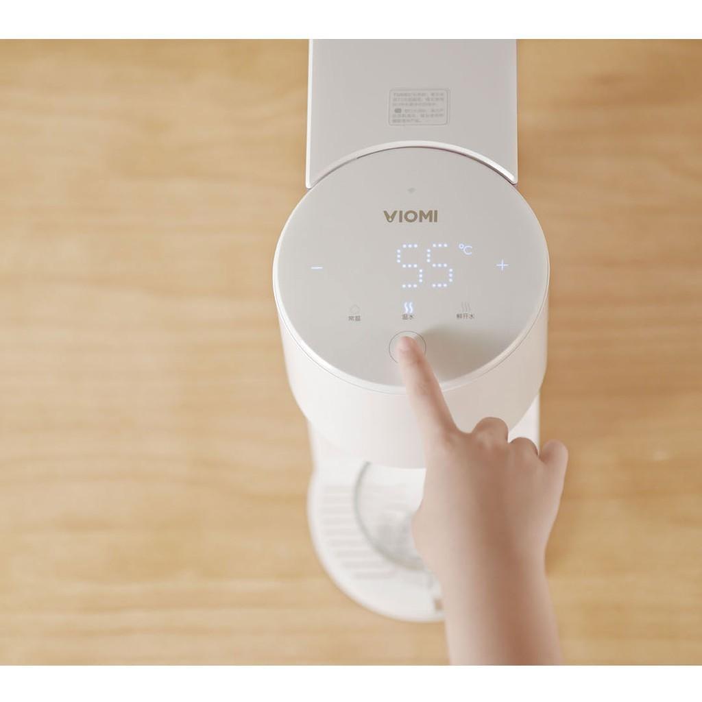 Kết quả hình ảnh cho máy nước nóng để bàn viomi