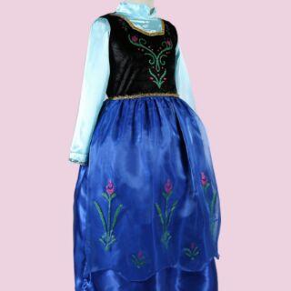Đầm công chúa Anna Frozen ms26
