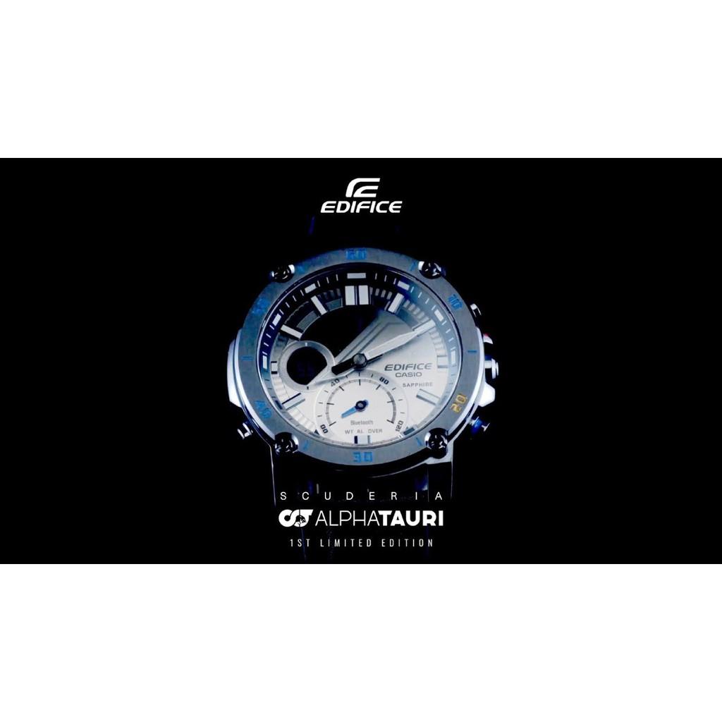 Đồng Hồ Casio Nam Dây Da EDIFICE ECB-20AT-2ADR Chính Hãng