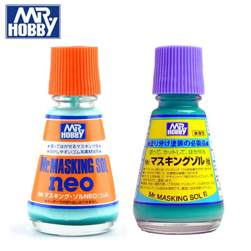 Dụng cụ sơn Mr Hobby – Dung dịch che sơn Masking Sol