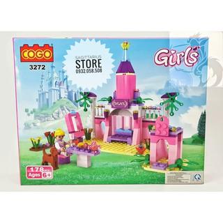 Lego Friend COGO 3272 Lă p Ra p Lâu Đa i Công Chu a ( 178 Ma nh )