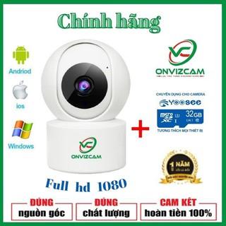 Camera wifi chính hãng ONVIZCAM V5PRO THẺ NHỚ 64G bảo hành 12 tháng nâng cấp của từ yoosee, carecam thumbnail