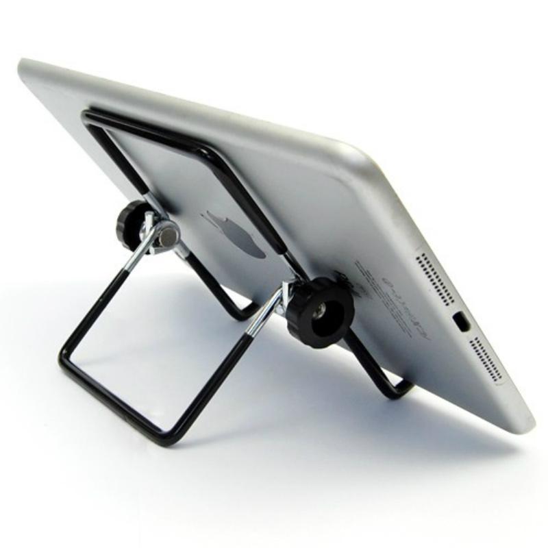 Giá Đỡ Ipad 2 3 4 Air Mini Bằng Thép Không Gỉ Chống Trượt Nhiều Góc Có Thể Điều Chỉnh