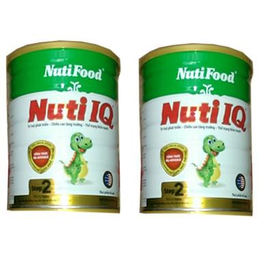 Combo 2 hộp Sữa bột NutiFood Nuti IQ Step 2 (900g)