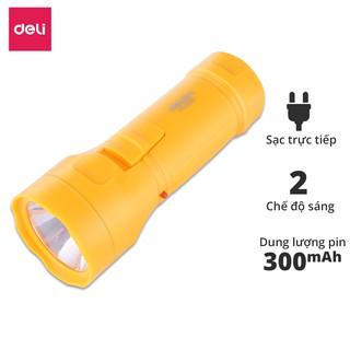 Đèn pin đa năng Deli - màu vàng - 1 chiếc - 3661