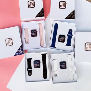 Đồng Hồ Thông Minh T500 - smart watch giống dây apple watch Hỗ trợ Tiếng Việt/Cuộc Gọi, Đo Nhịp Tim, Bước Chạy