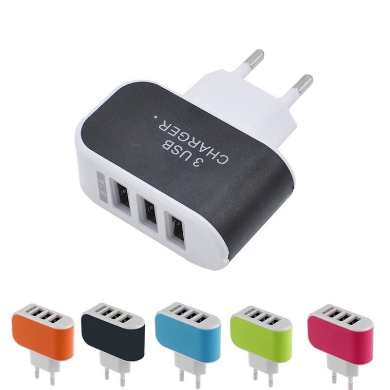 Củ Sạc 3 Cổng USB 3.1A Chính Hãng Tiện Lợi