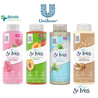 Sữa Tắm St.Ives Tẩy Tế Bào Chết Dịu Nhẹ Dưỡng Da - Skinfa. thumbnail