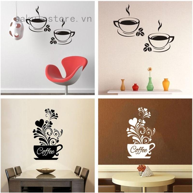 Sticker dán tường nghệ thuật hình tách cà phê dùng trang trí nhà hàng - 21776986 , 1557126142 , 322_1557126142 , 28929 , Sticker-dan-tuong-nghe-thuat-hinh-tach-ca-phe-dung-trang-tri-nha-hang-322_1557126142 , shopee.vn , Sticker dán tường nghệ thuật hình tách cà phê dùng trang trí nhà hàng