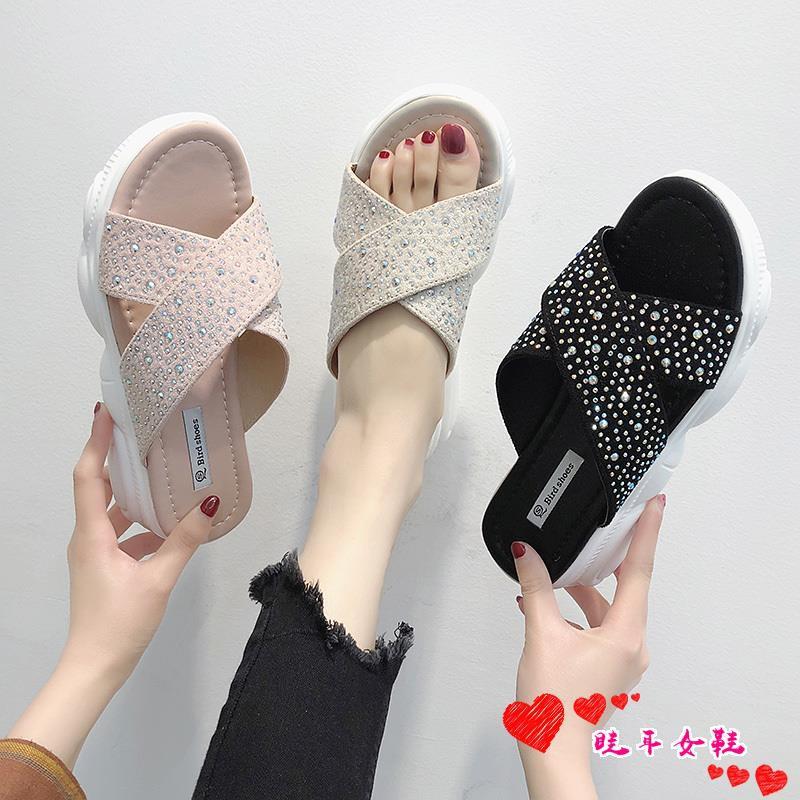 ☆spot stock ☆Bali net red slippers women wear 2019 new summe