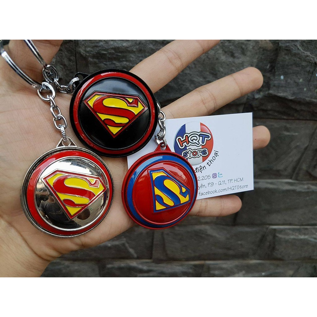 Móc khóa khiên xoay SuperMan - 2596602 , 164066584 , 322_164066584 , 60000 , Moc-khoa-khien-xoay-SuperMan-322_164066584 , shopee.vn , Móc khóa khiên xoay SuperMan