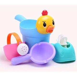 Ninikids: Bộ đồ chơi nhà tắm (bãi biển)