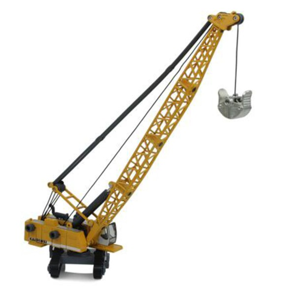 Alloy Diecast 1:87 Crawler Tower Toy Cable Excavator Engineering Vehicle Tower