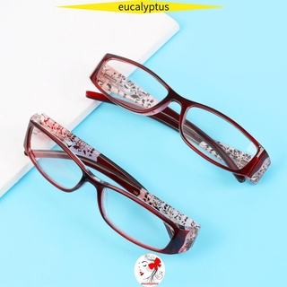 🌱EUPUS🍀 Ultralight Anti Blue Light Reading Glasses Radiation Protection Computer Goggles Presbyopic Eyewear Vision Care Men Women Fashion Anti-blue Rays Retro Classic Printing Eyeglasses