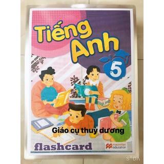 Flashcard Tiếng Anh Lớp 5