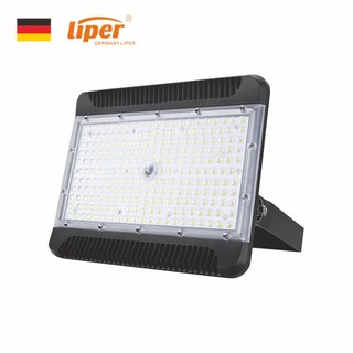 [CHÍNH HÃNG] SIÊU BỀN – Đèn pha Led Liper nhôm đúc nguyên khối, kính cường lực, chống nước IP66/200W/6500k màu trắng